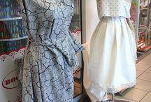 Sukienki, stroje, dzianiny - inspiracje, pomysły