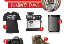 Celebrities' Favorite Gifts & Products / by Amanda Waas