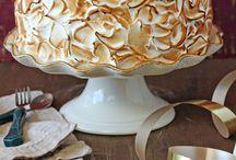 banana merengue cake