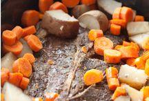 recipes- crockpot / by Tonya Ricucci