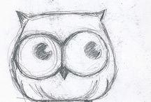Tegning / Tips til hvordan tegne og male