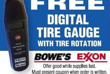 Special Offers  / Special offers here at Bowe's Exxon!