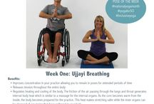 Inclusive Yoga / September is National Yoga Month! Beginning with our Inclusive Yoga workout video for individuals with spinal cord injuries, we're changing the rules on what is possible when it comes to time on your mat.