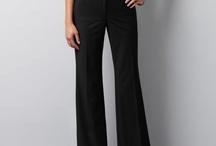Black trousers / by Caitlin Jones