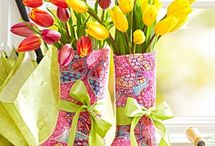 Spring Decorating Ideas / Happy Easter