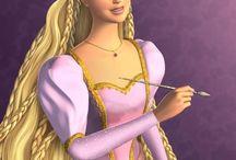 Barbie roszpunka