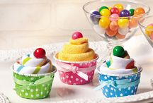 GBC | Christie's Cupcake Shower / Ideas for Christie's cupcake themed baby shower!