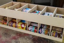 DIY Projects / Can ramp/storage / by Raz Shafer
