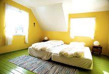 Farben – neue Trends und frische Muster entdecken / Die Farben wirken eigenartig auf das Ambiente zu Hause. Trends bei Farbtöne und Muster für Ihre Wände, Böden, Textilien oder Möbel.