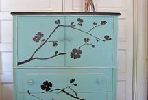 Furniture make over ideas / creating new from old and general ideas