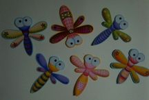libelulas y mariposas fomi