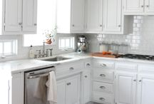 Kitchen ideas / Remodel kitchen small  / by Lois Zacharopoulos