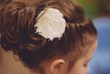 Wedding hair girls