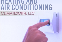 Heating and Air conditioning / by ClimateSmith, LLC