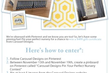 Pin Your Perfect Nursery Contest / by Carousel Designs