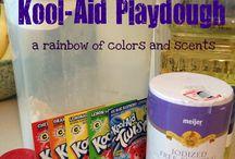 Play dough activities / by Marsha Ferrell