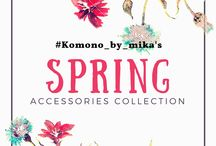 Spring accessories collection