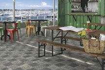 Outdoor Tiles / Patterned outdoor tiles
