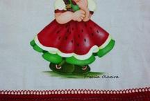 menininha  melancia