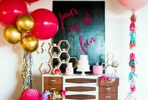 INSPIRATION | Party Decoration / Idea, DIY, Tips and Tricks for party decoration. For more inspiration : http://fabel.io/BlogPIN