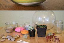 Come realizzare una composizione con la sabbia colorata