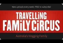 Travelling Family Circus Videos / Australian family having loads of Aussie adventures. Shows are free and suitable for all ages.