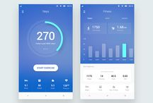 Mobile UI - Dashboard