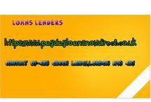 loans lenders uk
