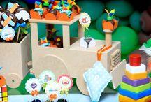 Festa brinquedos / Idéias festa Rafa