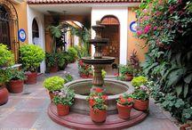 Spanish patio / by Matt Defazio