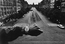 "Josef Koudelka: Twelve Panoramas, 1987 - 2012 / Pace and Pace/MacGill Gallery are pleased to present ""Josef Koudelka: Twelve Panoramas, 1987-2012."" Carefully selected by the artist to represent his best panoramic work from the past three decades, the twelve featured large-scale, black and white photographs depict the vestiges of industrial areas and coastal landscapes in Europe and the Middle East.  / by Pace Gallery"