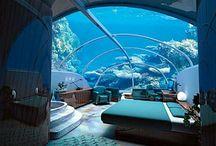 Le suite più belle del Mondo / Camere d'Albergo da mille e una notte