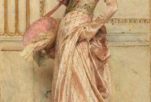 ladies in pink