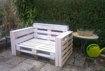 Pallets / Palettes / Pallets diy garden home decoration