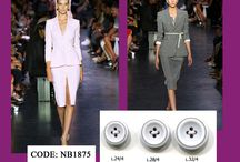 Buttons + Fashion Review / Fashion review with a bit of buttons.