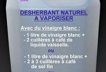 Desherant naturel