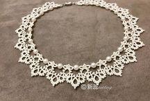 Ожерелье из пряжы