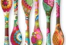 cucharas decoradas
