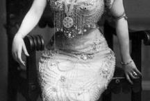costume siluette 1900-1910