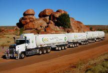 road trains trucks