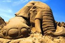 Sand Sculptures / by Bev Justice-Taylor