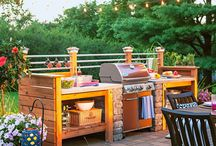 Outdoor Kitchens for Less