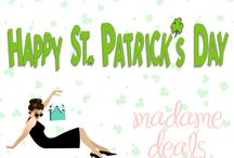 St. Patrick's Day / St. Patrick's Day crafts, recipes and gift ideas.