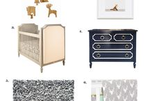 Forest Chic Nursery / Woodland Themed Nursery / by Newport Cottages