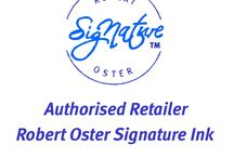 Robert Oster Signature Inks! / Now in Stock! This Ink was well received at The DC Pen Show! First North American Dealer! Over 40 Colors in Stock!