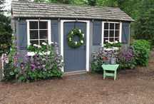 SHED PAINT IDEAS