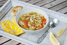 Soups & Chowdah / There's nothing like a warm bowl soup or chowder to get you back on your feet again!