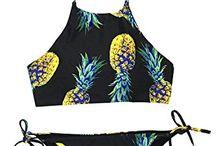 Bikinis and costumes