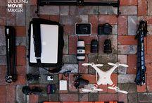 Filmmaking / Cameras, gadgets, sets & ideas