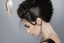 Волосы искусство